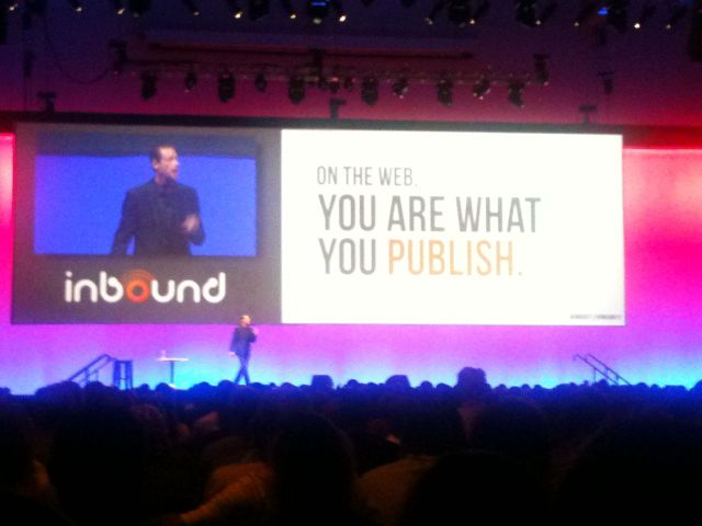 On the web, you are what you publish